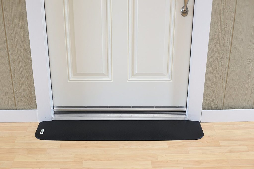 Wheelchair threshold ramp rubber by SafePath Products