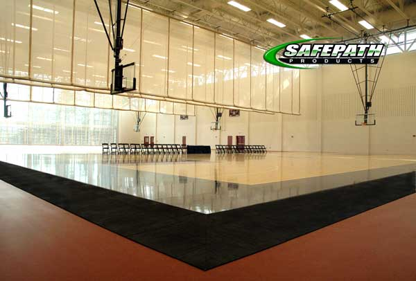 ADA Flooring Requirements - CourtEdge Reducers Basketball court renovation