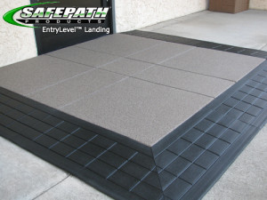 ADA compliant EntryLevel Landing SafePath Products