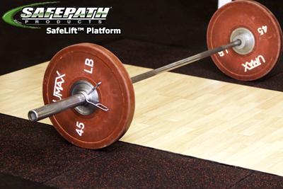 ADA weightlifting Platform