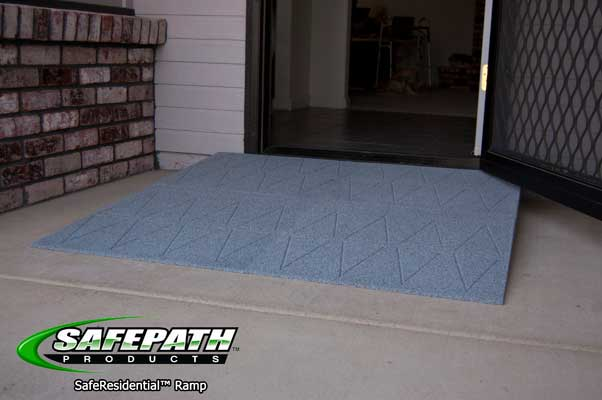 ada compliant safe residential ramp